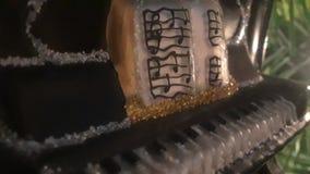 Piano ornament royalty free stock image