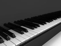 Piano over background Royalty Free Stock Photos