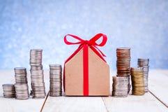 Piano per comprare una casa concetto finanziario Immagini Stock
