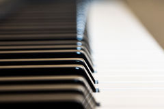 Piano. A photo shoot for the international music day Stock Photos
