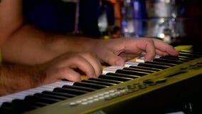 Piano almacen de metraje de vídeo