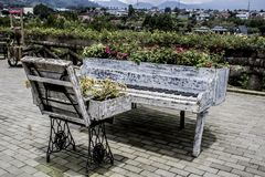 A Piano for Plants stock image