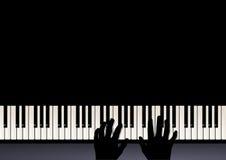 Piano play Stock Photo