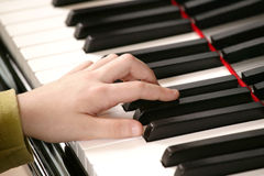 Piano Player Royalty Free Stock Photos