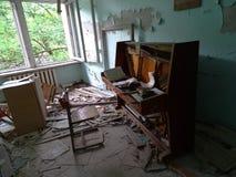 Piano quebrado Foto de archivo