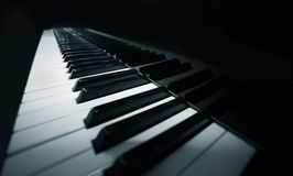 Piano à queue Images stock