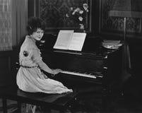 Piano recital Stock Photos