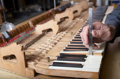 Piano Repair Stock Photo