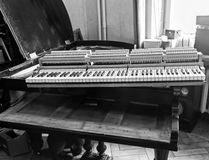 Piano restoration photo Stock Photo