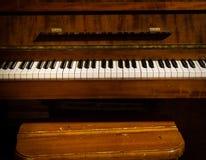 Piano retro para a venda imagem de stock royalty free