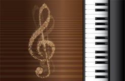 Piano roll Royalty Free Stock Photos