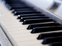 Piano in romance Stock Images