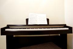 Piano in room Royalty Free Stock Photos