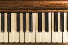 piano& x27; s肮脏的垫 免版税库存照片