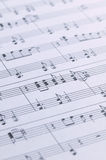 Piano Sheet Music royalty free stock image