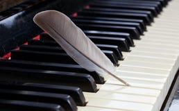 Piano - soft music Stock Photos