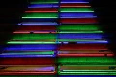 Piano Stairs Vivid Sydney Stock Photo