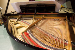 Piano string Royalty Free Stock Photography