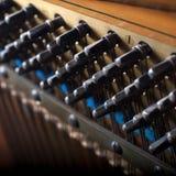 Piano strings Royalty Free Stock Photos