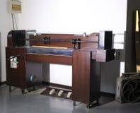 Piano strings machine Stock Photos