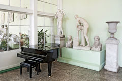Piano in stylish interior. Royalty Free Stock Photo