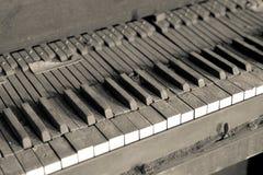 Piano sucio Imagen de archivo libre de regalías