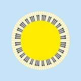Piano sun concept. Stock Photo