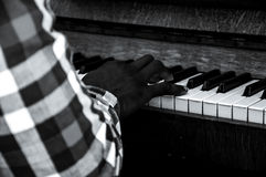 Piano Time Royalty Free Stock Photography