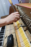 Piano Tuning 4 Royalty Free Stock Images