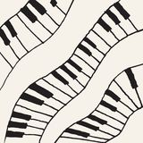 Piano - Vector Illustration Royalty Free Stock Images