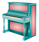 Piano. Vector Illustration Stock Image