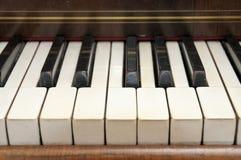 Piano velho Fotografia de Stock Royalty Free