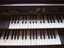 Piano velho Fotos de Stock