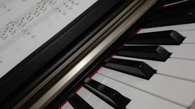 Piano. A very nice piano Stock Image