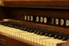 Piano viejo fotografía de archivo libre de regalías