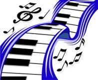 Piano wave Stock Photos