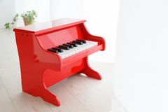 Piano by the window Royalty Free Stock Photos