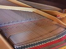 Piano wire Stock Image