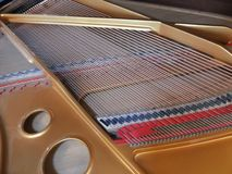 Piano wire Royalty Free Stock Images