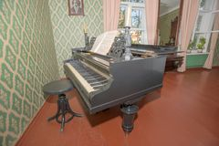 Piano writer Royalty Free Stock Photography