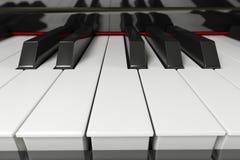 Piano0001 Royalty Free Stock Photo