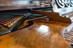 Pianodetaljer arkivfoton
