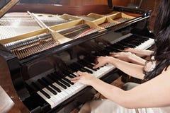 Pianoduett Royaltyfri Foto
