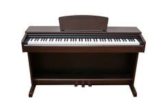 Pianoforte verticale Fotografie Stock Libere da Diritti