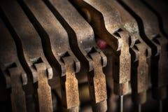 Pianoglädje Arkivfoto