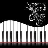 Pianoillustration Royaltyfri Bild