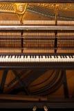 Pianoinre arkivbilder