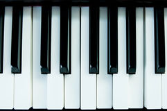 Pianokeys Photo stock