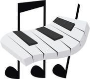 PianoKeys Stock Photos