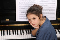 Pianokurs Royaltyfria Foton